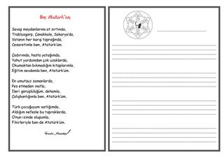 Atatürk Haftası Şiiri