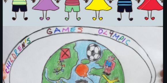 Children's Games Olympics projesinde poster seçimi