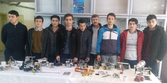 Trabzon Of HMB Ulusoy Lisesi Makine Bölümü öğrencilerinden anlamlı etkinlik