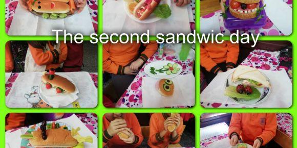 Öğrencilerimiz sağlıklı sandviç hazırlama etkinliği yaptılar