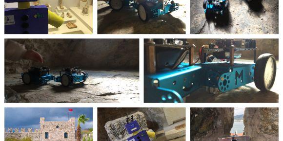 Robotlarımız Marmaris Kalesi'nde