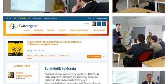 Isparta Bilişim Teknolojileri Rehber Öğretmenler toplantısı