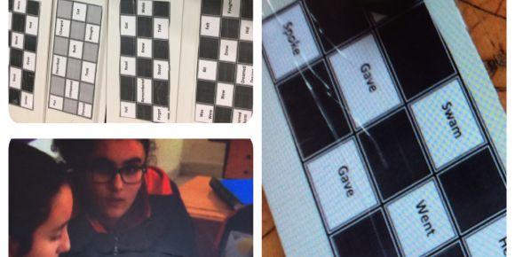 Düzensiz Fiiller Bingo Oyunu