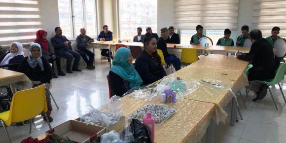 Öğrenci ve öğretmenlerimiz huzurevi ziyareti gerçekleştirdi