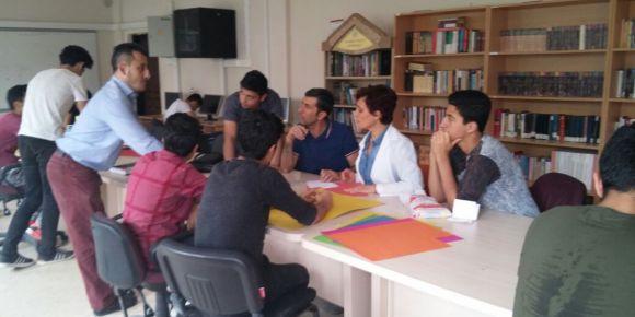 TÜBİTAK bilim fuarı matematik dersi proje çalışmaları devam ediyor