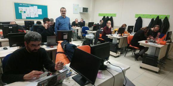 Gemlik Özdilek Cevdet Aynur Mayruk Kız AİHL' de Arduino Uygulamaları Temel Seviye Kursu
