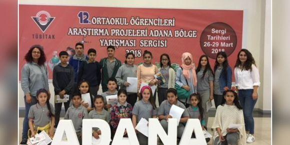 12. Ortaokul Öğrencileri Araştırma Projeleri Yarışması Adana Bölge Sergisi