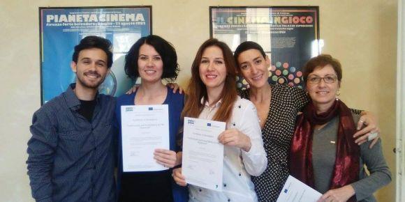 Tekirdağ Namık Kemal Lisesi Erasmus hizmet içi eğitimi için Floransa`da