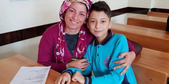 Fadime-Halil İbrahim Karahan Derbent Ortaokulu okuduk-yarışıyoruz projesi