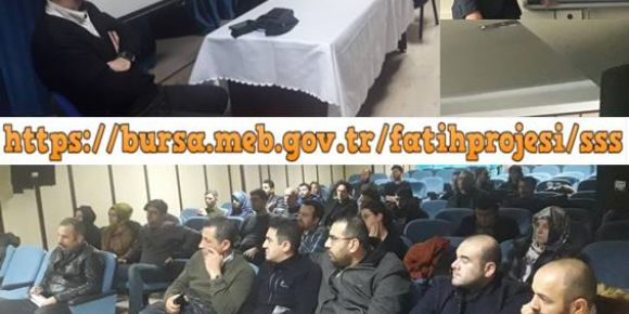 Fatih Projesi bt rehber öğretmenleri toplantısı