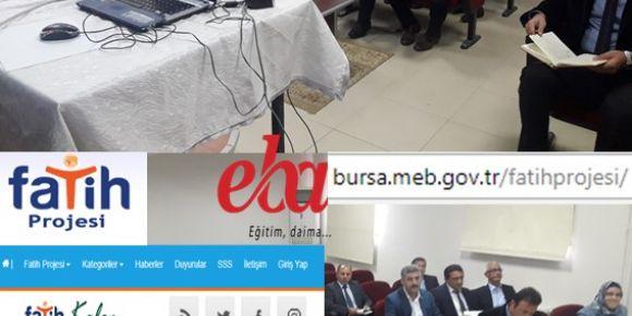 Bursa Gürsu Fatih projesi ve yeni EBA bilgilendirme toplantısı