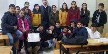 Kaynarca Mimar Sinan Ortaokulu 7-C sınıfı karne heyecanı