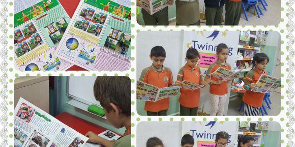 eTwinning proje gazetemizi yayınladık