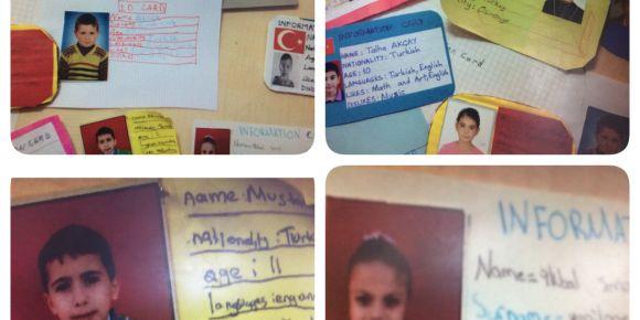 Identıty Cards (Kimlik Katları Etkinliği)