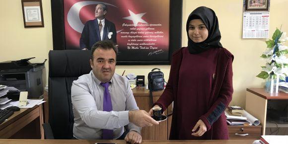 Dünya Türk Kahvesi Gününde Öğretmenlerimize Kahve İkram Ettik