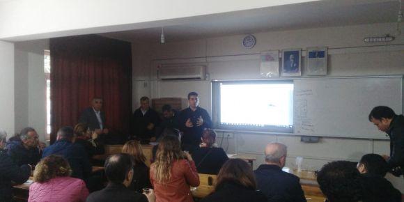 """Mersin-Toroslar 19 Mayıs Ortaokulu """"Güvenli İnternet Günü (SID, 2019)"""" kutlamaları"""