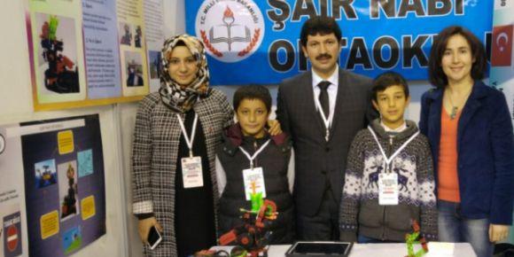 Şanlıurfa Şair Nabi Ortaokulu uluslararası Türk dünyası kültür ve bilim şenliklerinde