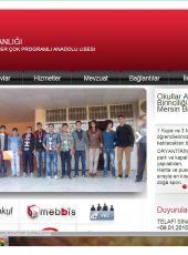 Mersin Akdeniz İsa Öner Çok Programlı Anadolu Lisesi Gençler (B) Oryantiring İl Birincisi