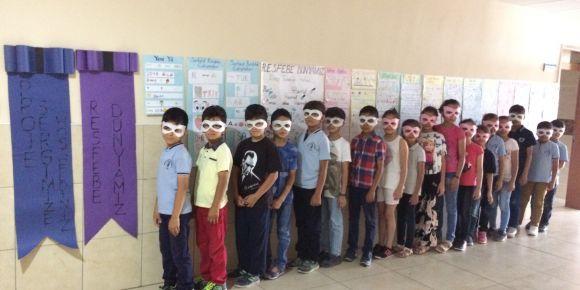 Resfebe Dünyamız adlı proje sergimizi açtık