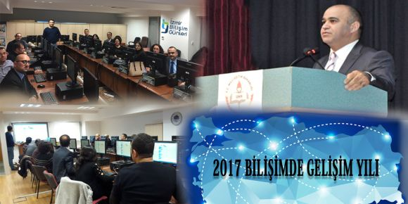 """İzmir İl Milli Eğitimden """"Bilişimde Gelişim Yılı""""na tam destek"""