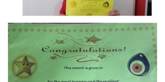 Başarılı öğrenciler sene sonunda sertifikla ile ödüllendirildi