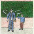 EBA Çizgi 1.Karikatür Yarışması, Öğrenci Kategorisi Sergileme, Onat ZEBER