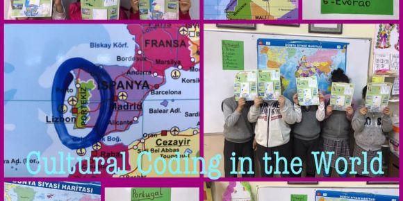 Ülkeleri ve en önemli şehirlerini kodlayarak öğreniyoruz