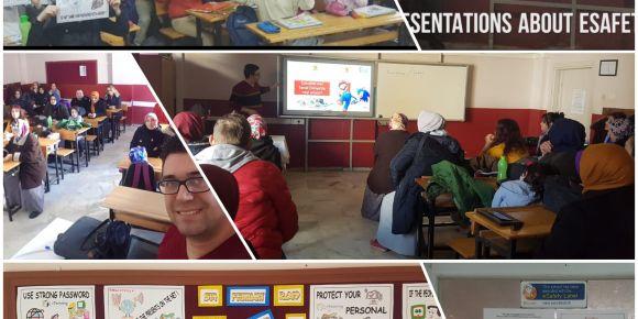 Kardeşler Ortaokulu güvenli internet günü etkinlikleri