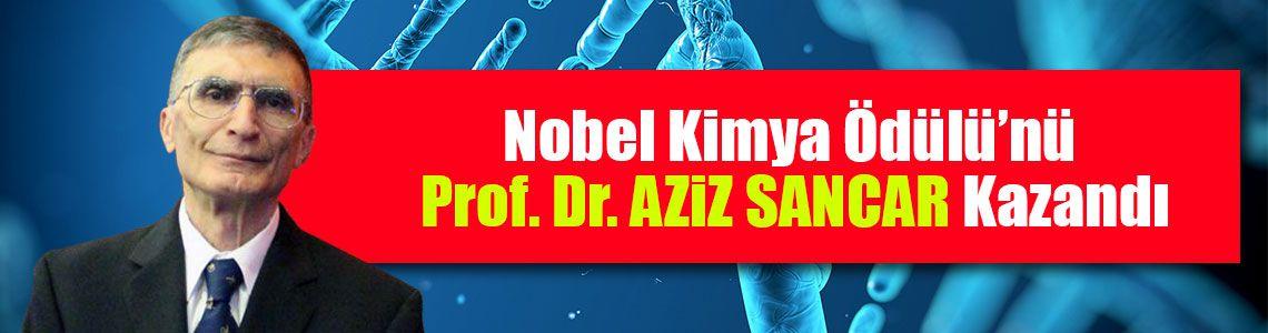 Nobel Kimya Ödülünü Türk asıllı Aziz Sancar kazandı
