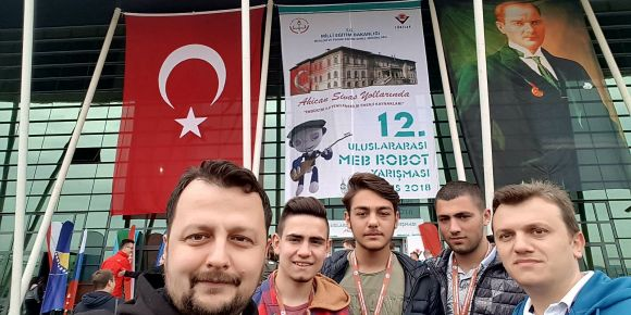 12. Uluslararası MEB Robot Yarışması'na katıldık