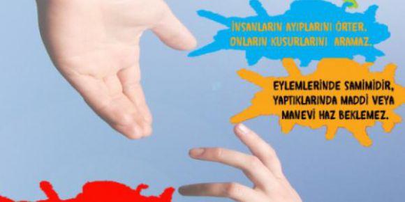 Herke Anadolu Lisesi Kasım Ayı Değerler Eğitimi-Yardımlaşma