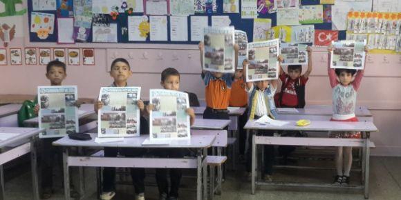 Nizip Cumhuriyet İlkokulu okul gazetesi yayınlandı