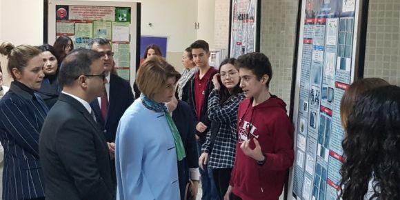 Bakanımızın Eşi Sayın Rana Selçuk Hanımefendi'nin Okulumuzu Ziyaretleri