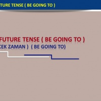 The Simple Future Tense (Be Going To) : Gelecek Zaman (Be Going To)