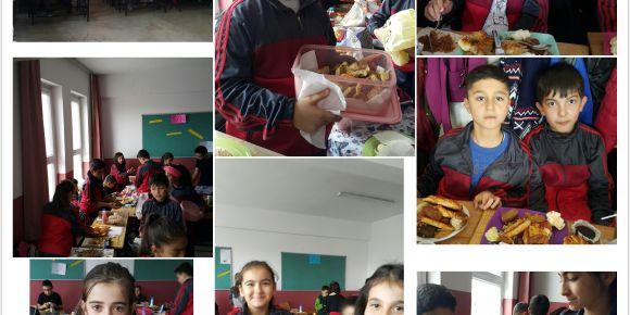 5/N Sınıfı Yörelerimiz Yemeklerimiz Etkinliği