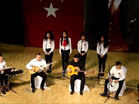 2016-2017 Kırklareli Fen Lisesi 10 Kasım Programı - Türkü - Çal�... izle