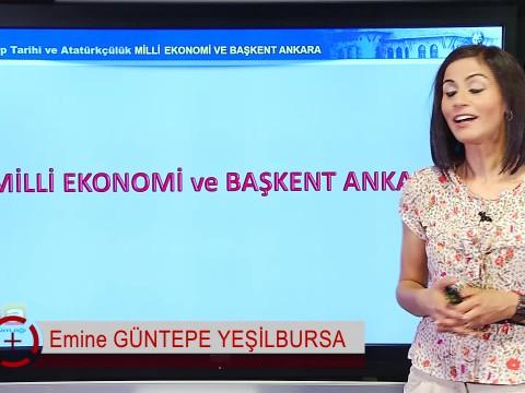 Milli Ekonomi ve Başkent Ankara